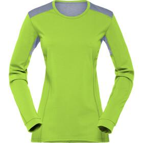Norrøna W's Falketind Super Wool Shirt Birch Green
